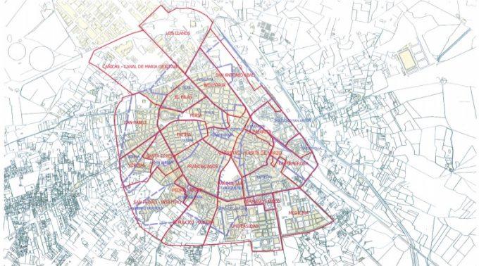 mapa barrios