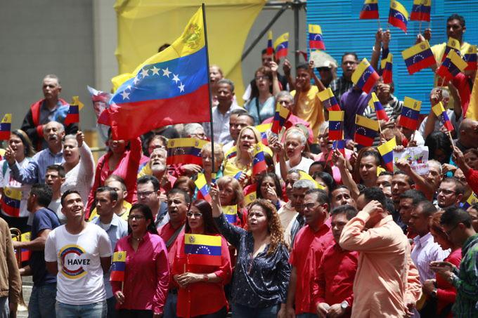 Resultado de imagen para Pueblo movilizado en todo el país inició campaña constituyente