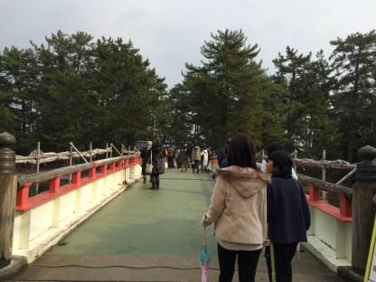 Amanohashidate - sisi stasiun (2)