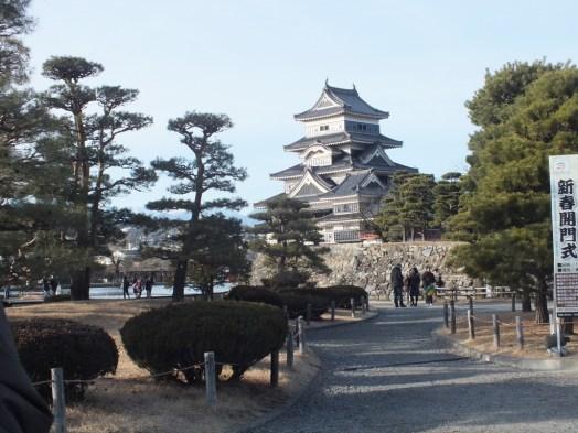 Kastil dari taman