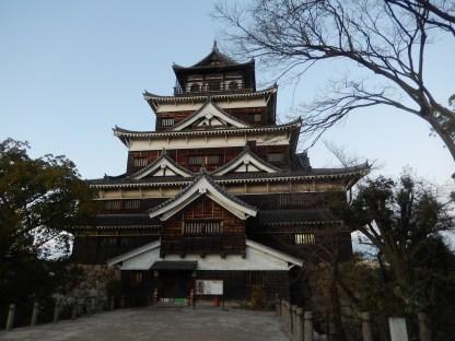 hiroshima-castle-malam