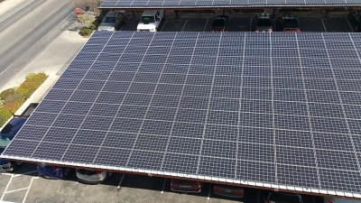 Commercial Solar Panel Install Victory Medical Austin Texas