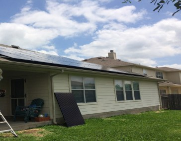 Pflugerville Texas Solar Panel Installation by Alba Energy