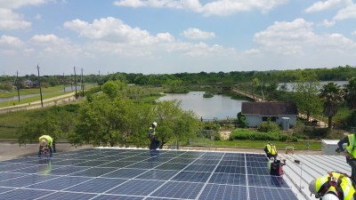 Sea Center Texas Solar Install2