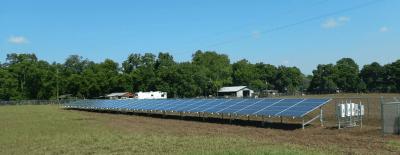 Solar Panel Ground Mount Thompson Texas