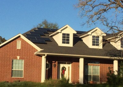 7.24 kW Solar Panel Installation In Bastrop, Texas
