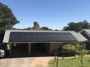 Sunset Valley Texas Home Solar Panel Install-1