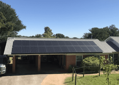 10.15 kW Solar Panel Installation in Sunset Valley, Texas