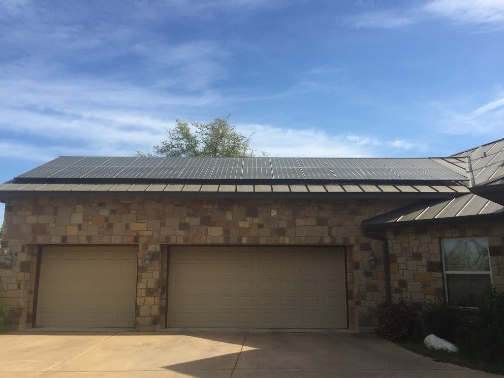 1323 Kw Solar Panel Installation In Georgetown Texas Alba Energy