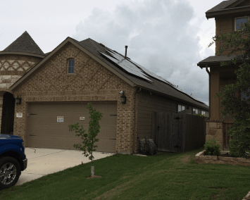 Hutto Texas Solar Panel Installation Alba Energy