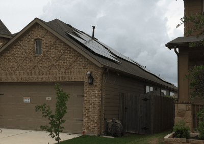 8 kW Solar Panel Installation in Hutto, Texas