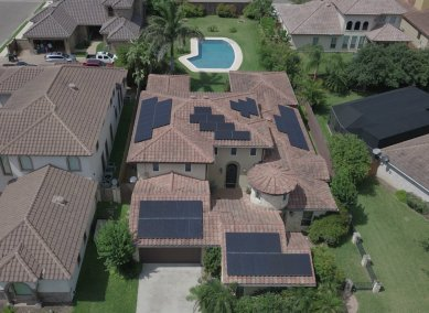 Mission Texas Home Solar Power System-1