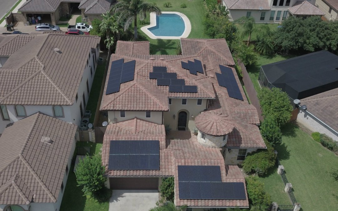 Mission, Texas Home Solar Power System