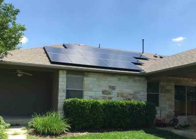 6 kW Solar Panel Install in Round Rock, Texas