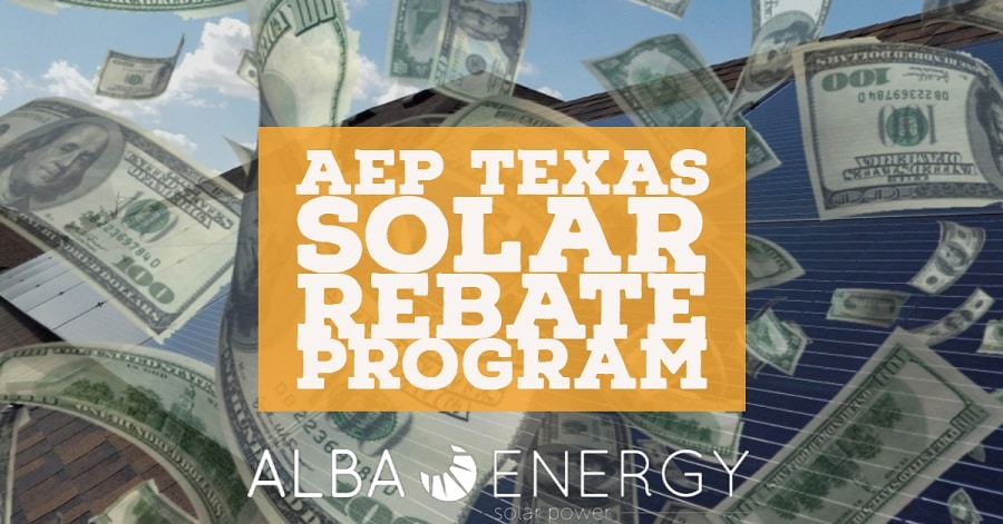 AEP Texas Solar Rebate Program