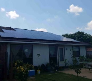Mesquite Texas Home Solar Panel Install