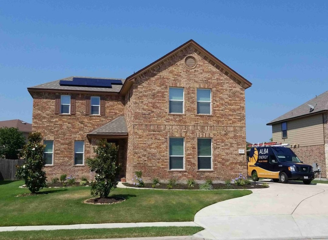 6 Kw Home Solar Power System In Pflugerville Texas Alba