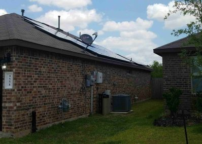 Richmond Texas Home Solar Panel Installation