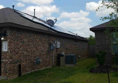 5 kW Solar Panel Installation In Richmond, Texas