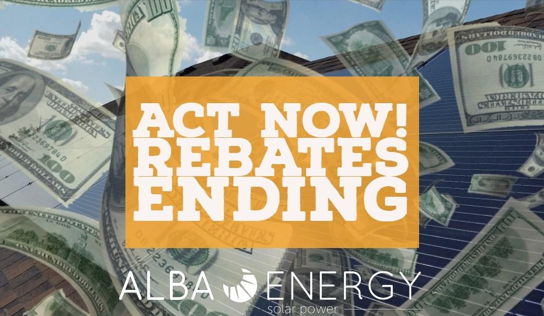 Solar Rebate Program Ending