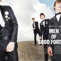 MEN OF GOOD FORTUNE BY ALESSIO BOLZONI FOR 10 MEN