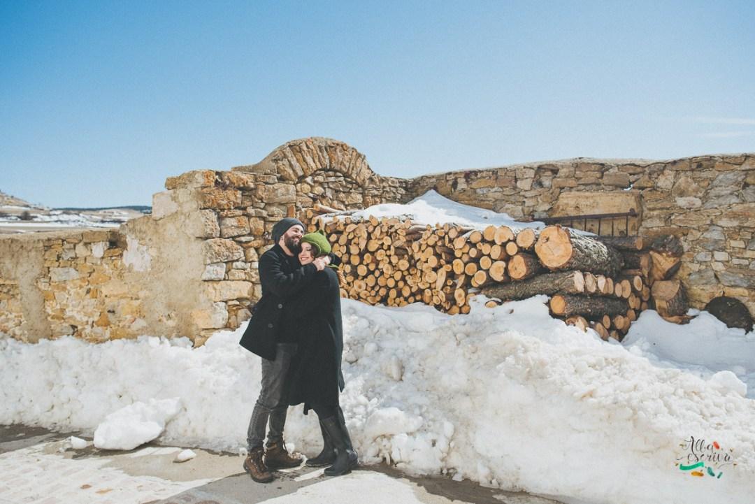 Sesión pareja nieve - Alba Escrivà -6607