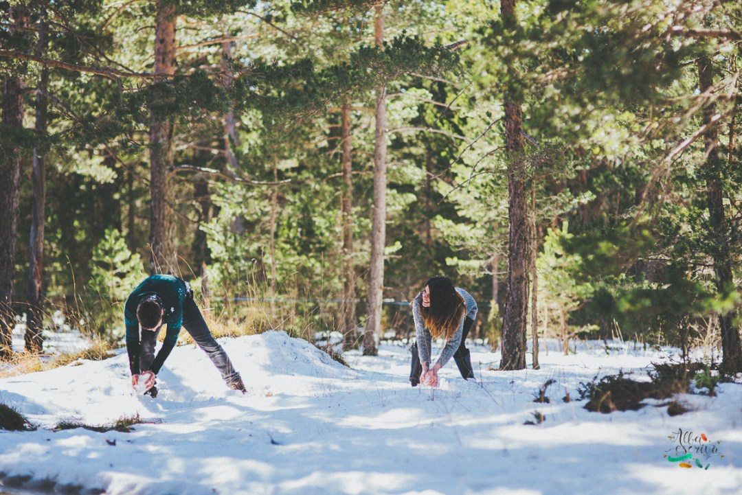 Sesión pareja nieve - Alba Escrivà -6748
