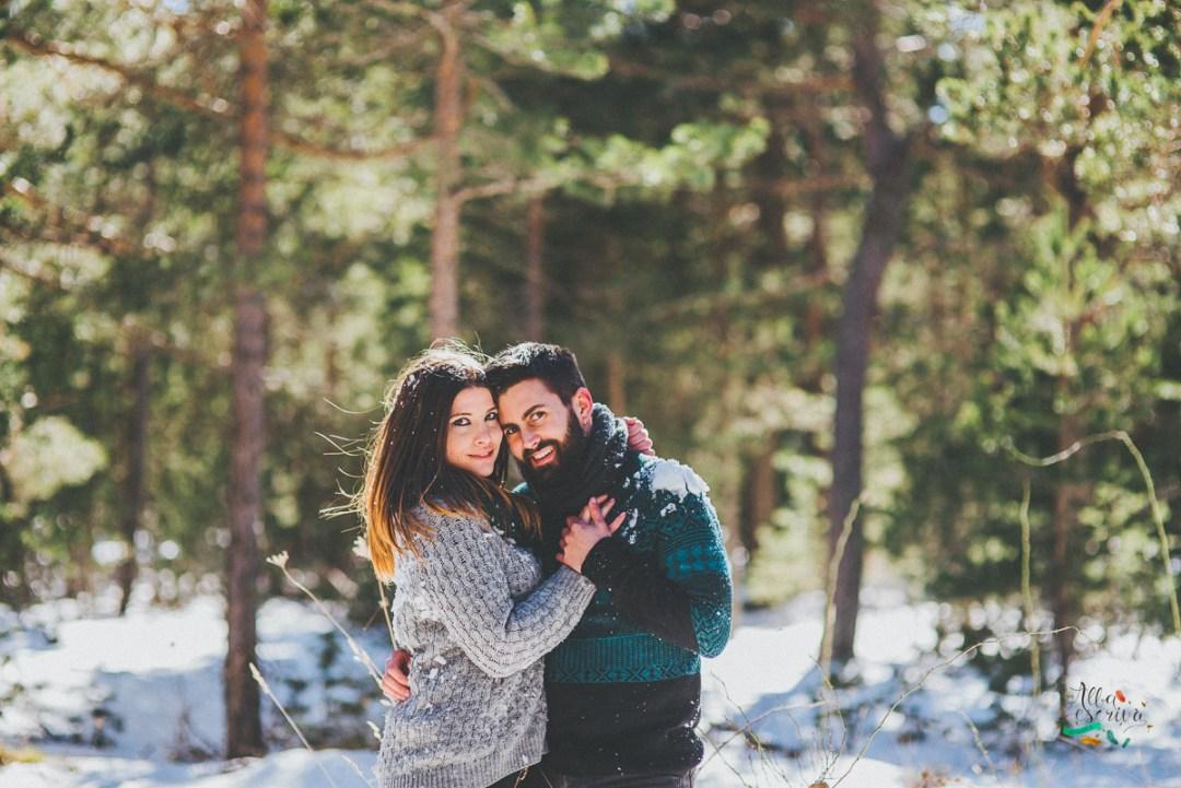 Sesión pareja nieve - Alba Escrivà -6784