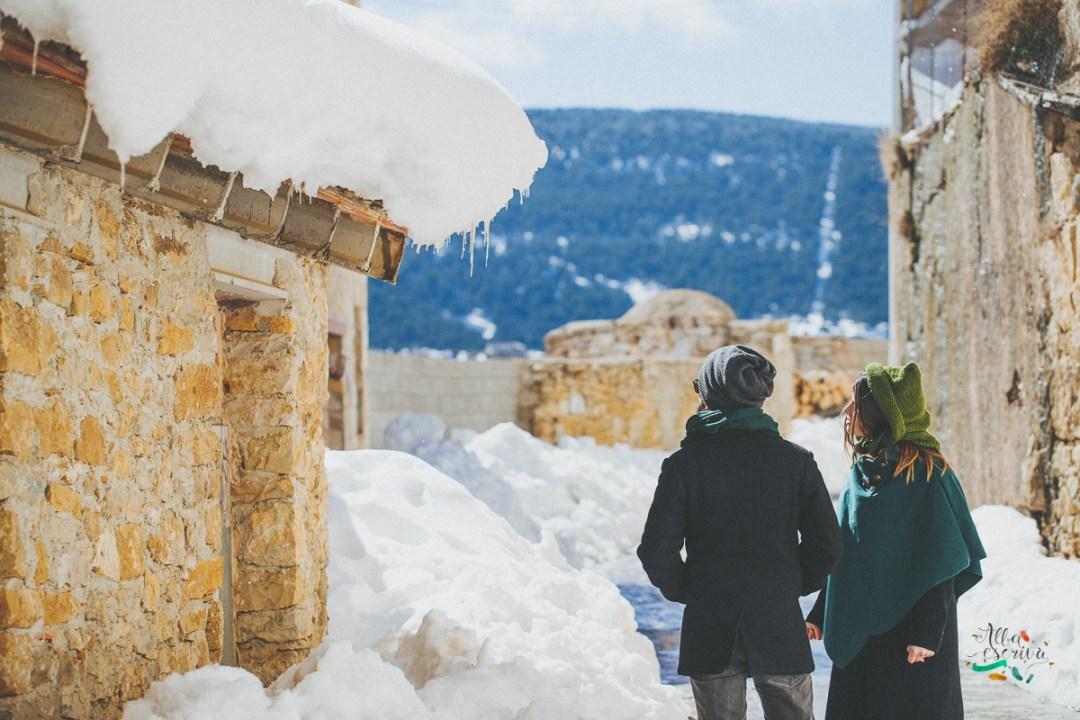 Sesión pareja nieve - Alba Escrivà -6984