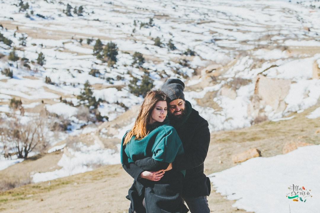 Sesión pareja nieve - Alba Escrivà -7024