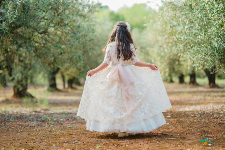 vestido niña comunion valencia original
