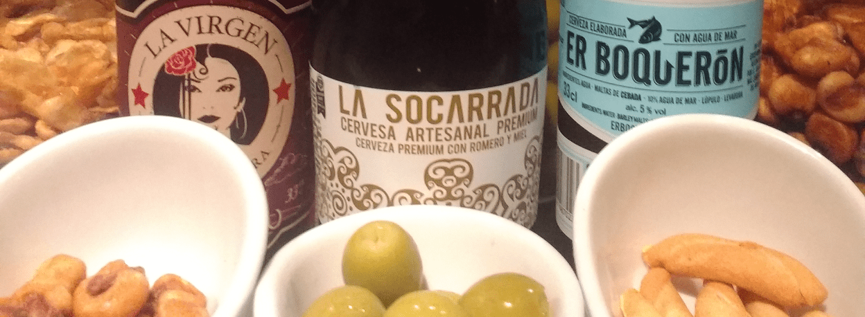 Fine Spanish craft beers and ciders at Tapas Tres