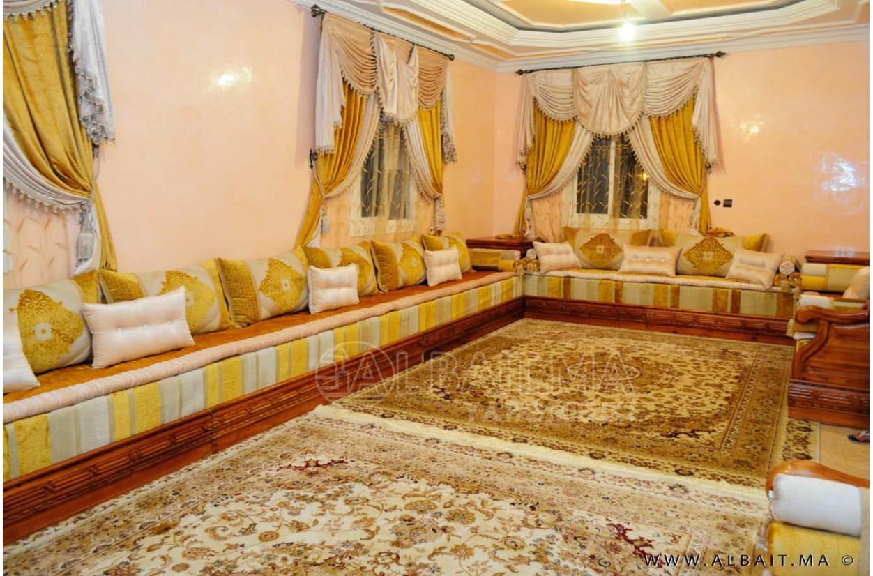 Salon Marocain Marron