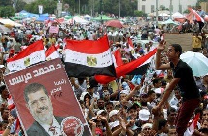 محمد مرسي  رئيسا لكل المصريين