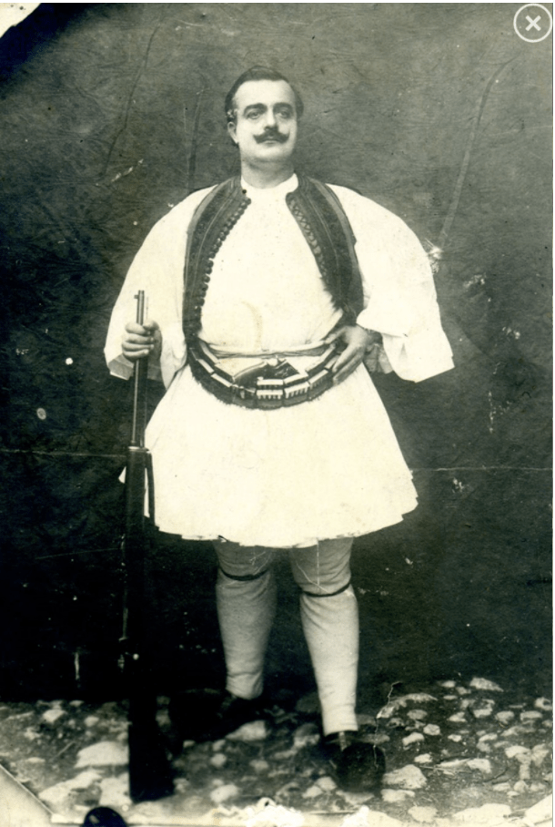 Albanian Fustanella