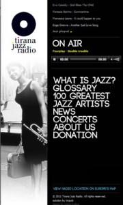 Tirana Jazz Radio online (photo)