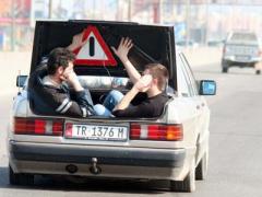 Cabriole Mercedes in Albania