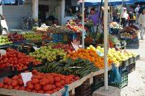 Marktstand in Tirana