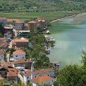 Dorf Lin am Ohridsee