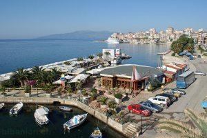 Saranda: Bootshafen