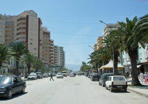 Hauptstrasse von Vlora