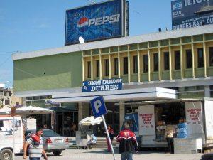 Bahnhof von Durrës, Albanien