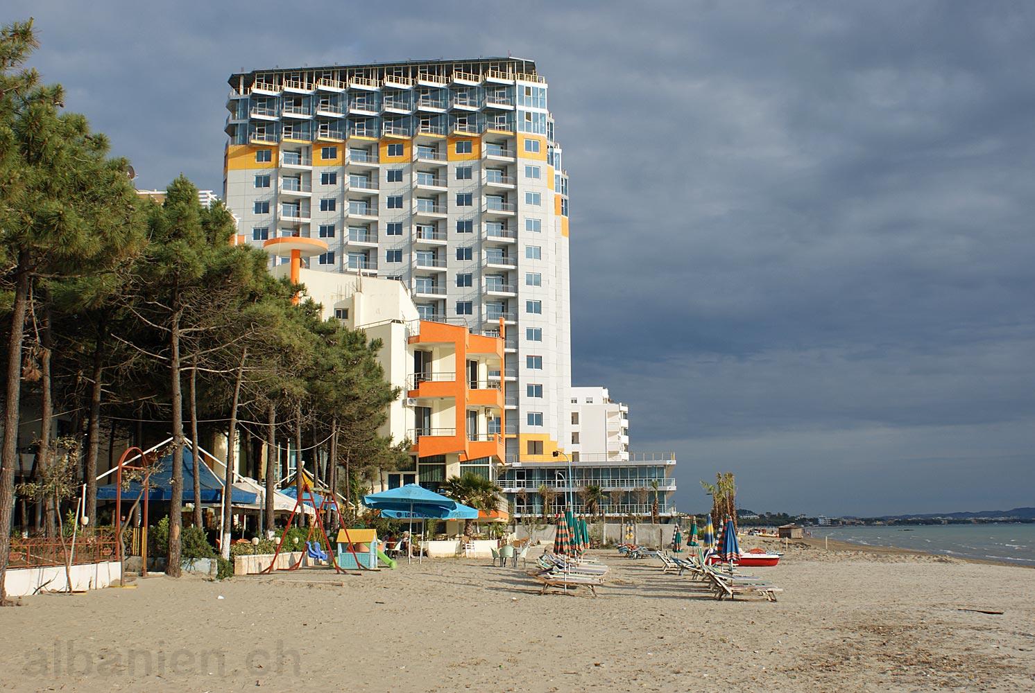 Strand von Golem, Albanien