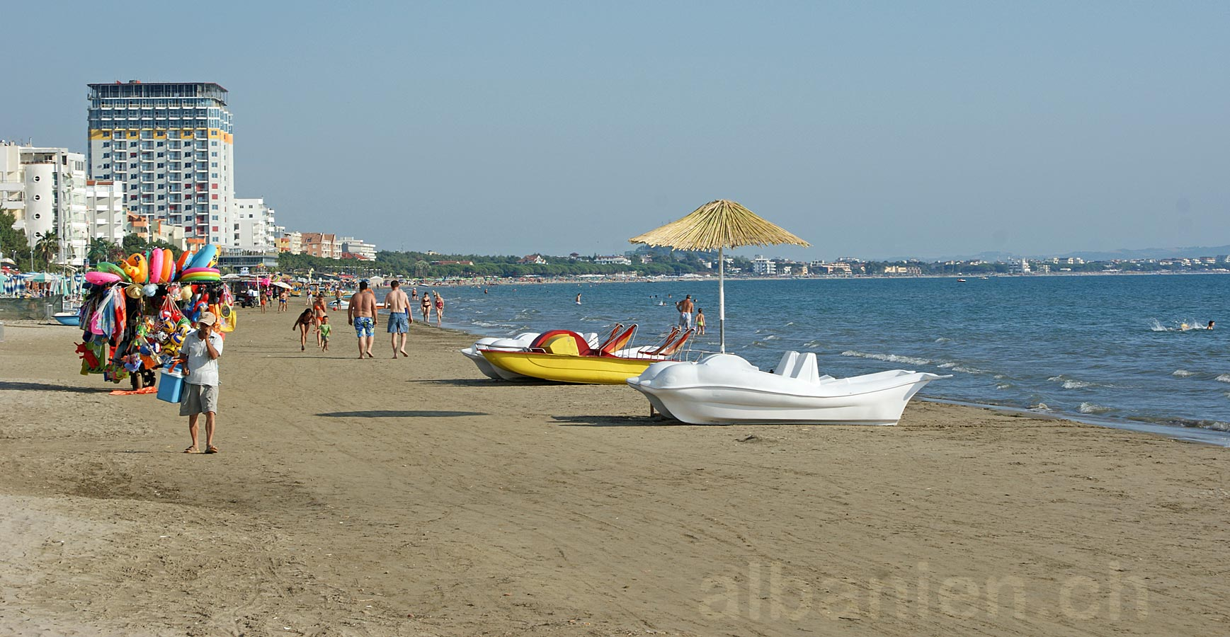 Durrës Strand, Albanien