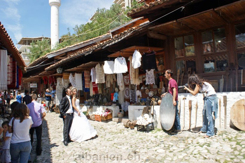 Kruja Albanien Basar
