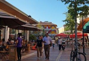 Touristischerr Markt in Tirana