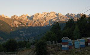 Bjeshket e Namuna bei Lepushë, Albanien