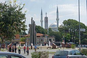 »Platz der Deomkratie« in Shkodra