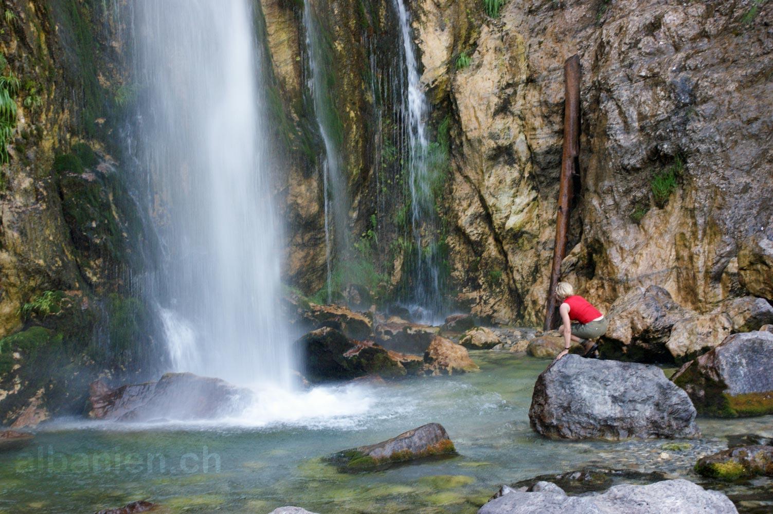 Albania Wallpaper Hd Theth Wasserfall Albinfo By Albanien Ch