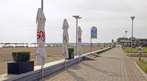 Velipoja, Strandpromenade, Albanien